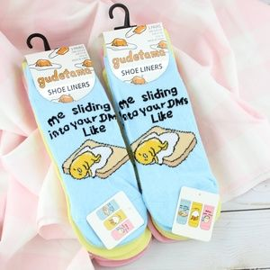 Gudetama Socks - 6 Pairs